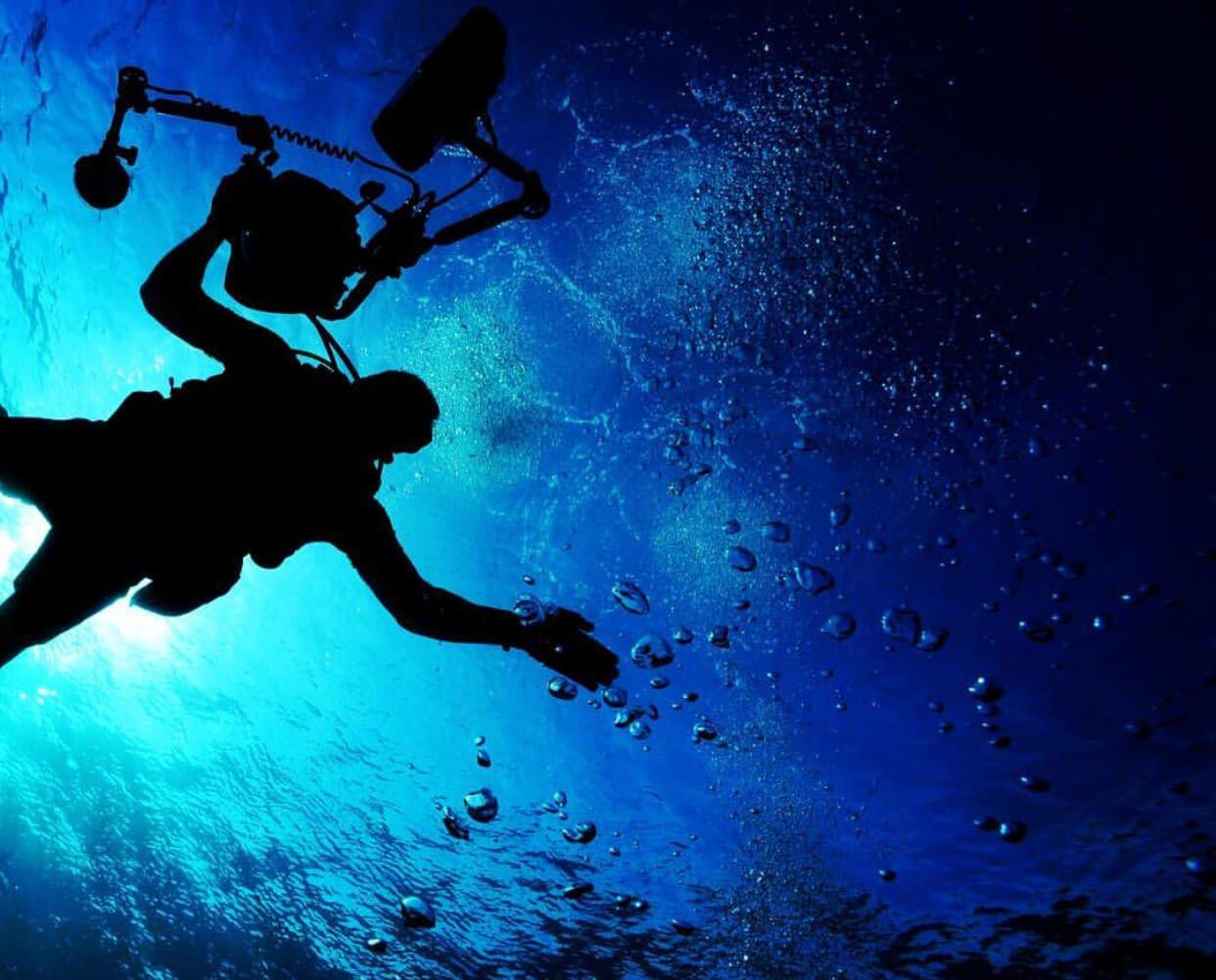 Living in Malta diving